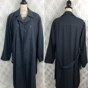 London Fog Full Length Trench Coat